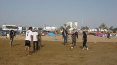 Los picaditos en la playa, una constante en Agadir