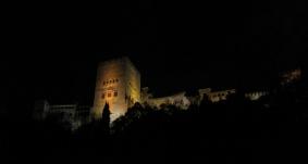 La Alambra, vista desde El Paseo de los tristes