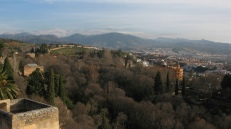 Panorámica desde La Alhambra