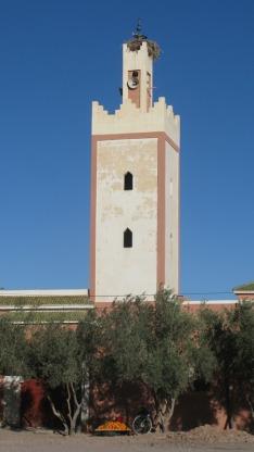 Una de las tantas mezquitas de Ouarzazate