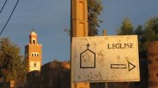 En Ouarzazate hay dos iglesias católicas que aún funcionan
