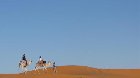 Desierto del Sahara, desde Merzouga, Marruecos