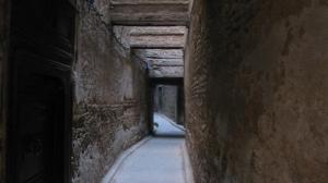 Los pasillos de la Medina de Fez, Marruecos