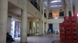 La terminal de Fez, con las primeras luces del día