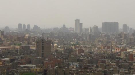 La populosa capital de Egipto