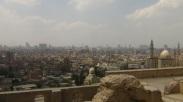 Vista desde el castillo/mezquita Salah Al-Din