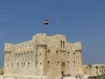 Castillo de Qaitbay, construido por dicho sultán en 1477 (restaurado hace unos años)