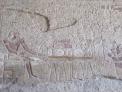 Pintura en el templo de Hatshepsut, Lúxor