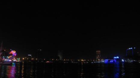 El Nilo de noche