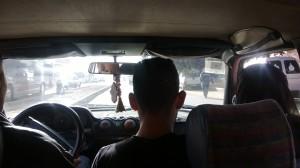 Taxi compartido en Marruecos