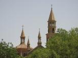 Una de las tantas iglesias que aún quedan. El cristianismo llegó en el SV desde Etiopía y desde el imperio romano