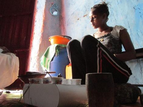 Café casero etiope, de los mejores del mundo...