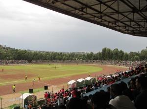 El estadio de la ciudad de Gondar