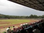 El estadio de Gondar, Etiopía