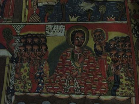 Las representaciones de Jesús en iglesia de Etiopía