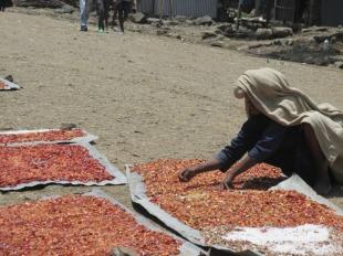 Pueblos del interior en el norte de Etiopía