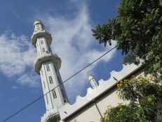 Mezquita en Bahir Dar, Etiopía