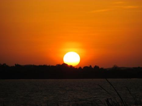 Atardecer lago Tana, Bahir Dar, Etiopía