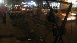 Los rompehuelgas en la Plaza Tahrir