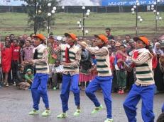 """Bailes tradicionales en los festejos de 23 años de """"democracia"""""""