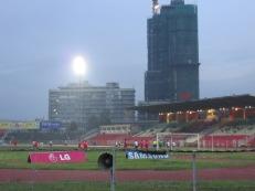 El estadio de Addis Ababa