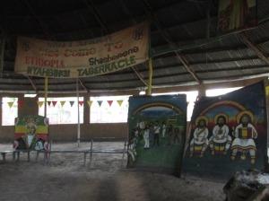 """El """"tabernáculo"""" rasta en Shashemene, Etopía"""