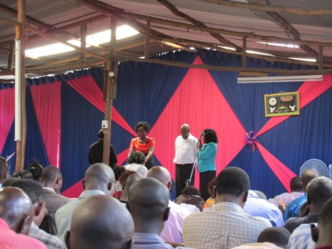 """Misa"" protestante en Kenia"