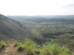 Menegai crater (antiguo volcán, el más grande a África), Nakuru, Kenia
