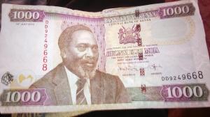 "Los ""Chelines""  kenianos, o ""Kenyan Shillings"""