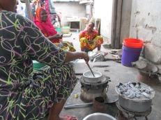 Cocina tradicional en Dar es Salaam, Tanzania