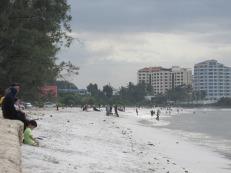 Las playas en Dar es Salaam, Tanzania
