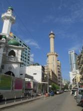 Barrio musulmán en Dar es Salaam, Tanzania