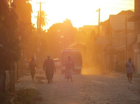 Suburbios de Dar es Salaam, Tanzania