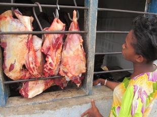 Carnicería en Turiani