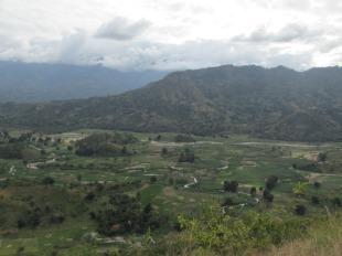 Los valles que rodean Turiani, Tanzania
