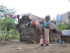 Casa de campesinos en Turiani, Tanzania