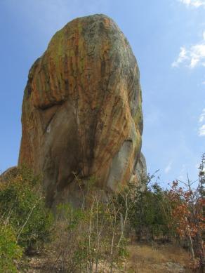 """""""La gran piedra"""" en Iringa, Tanzania"""