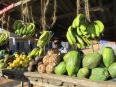 Mercado de frutas en Iringa, Tanzania