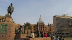 Plaza central de Pretoria