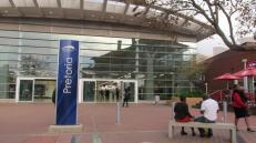 """Estación de """"Gautrain"""" en Pretoria, el moderno y costoso transporte """"público"""""""