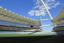 El estadio mundialista de Durban