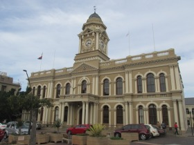 Playas y arquitectura en Port Elizabeth