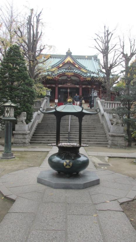 Templo budista en Asakusa.