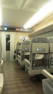 Los trenes, impecables, por dentro