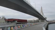 Ciudad de Aomori, capital de la región del mismo nombre.
