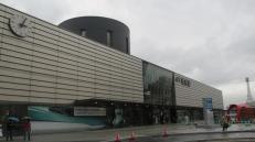 La estación de trenes de Hakodate.