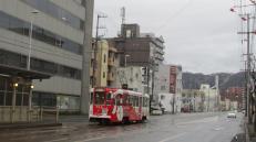 El tranvía en Hakodate.