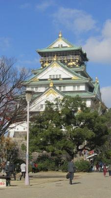 Castillo de Osaka.