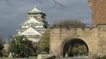 El castillo de Osaka.