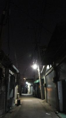 Callejones del barrio Mullae